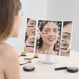 Make-up Spiegel met LED 4-in-1